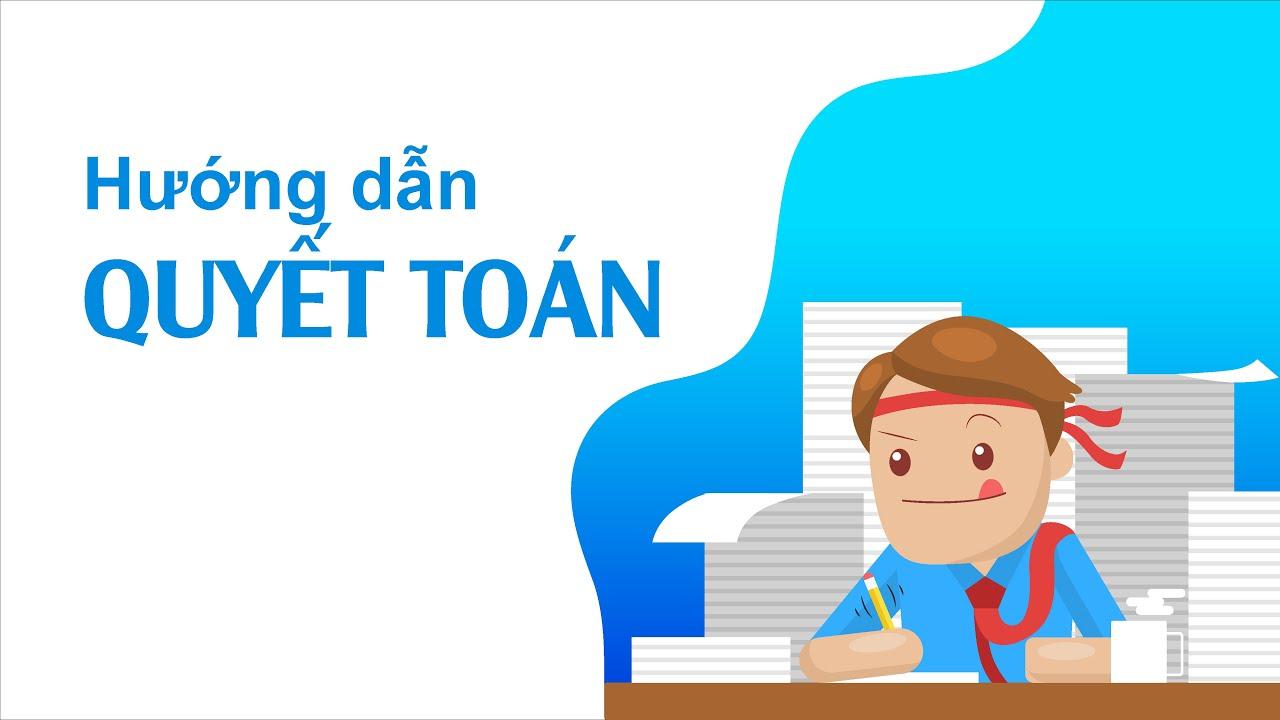 Hướng dẫn sử dụng_MISA SME_Quyết toán trên MISA SME