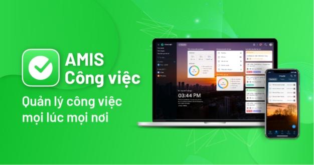 Hướng dẫn sử dụng phần mềm AMIS Công việc